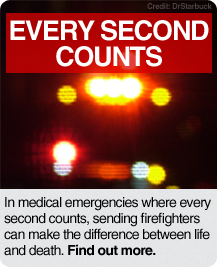 Every Second Counts: Find Out More.